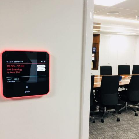 Room booking systems